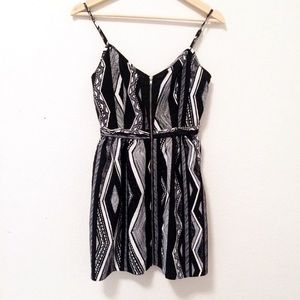 2/$20 Urban Outfitters black tribal aztec dress